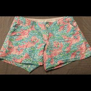 Lily Pulitzer size 6 Callahan Shorts